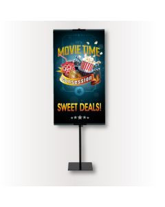 Value & Superior Banner Stand (replacement 2x5 banner)