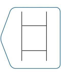H Frame Coro Sign Mount
