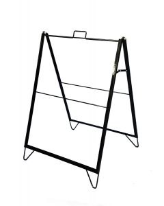 "Metal A Frame Sign Holder (18""x 24"" replacement hardware)"