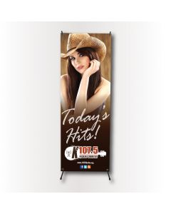 X Banner Stand (replacement 2x5 banner)